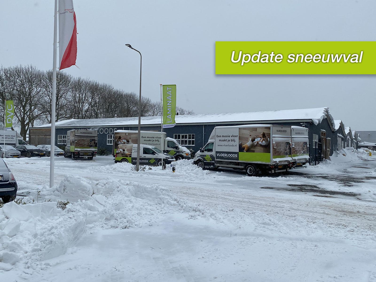Informatie rondom de sneeuwval